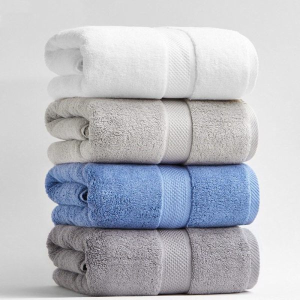 Luxury Cotton Bath Towels Thick Extra Large