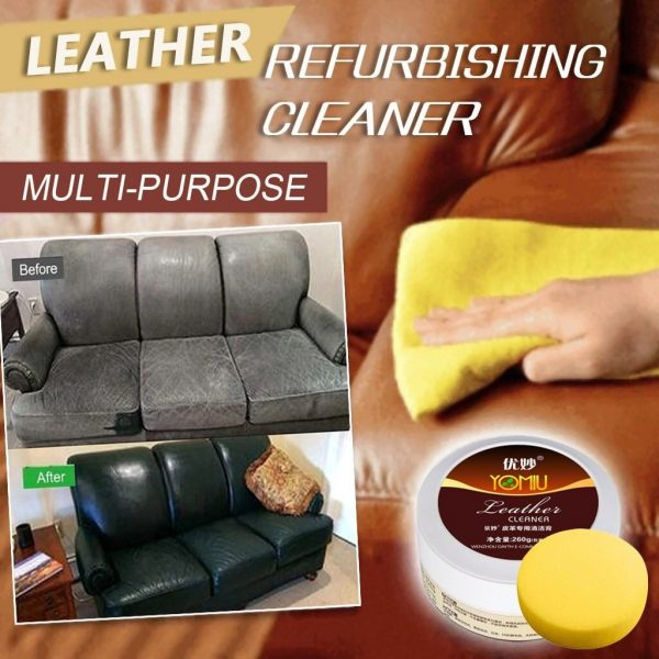 Multifunctional Leather Cleaner Cream